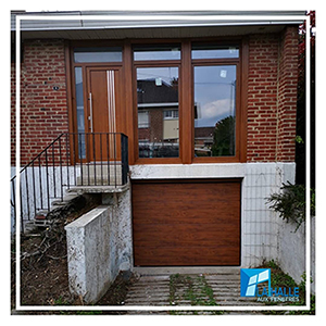 Pose de carport et porte de garage à Lille, Carvin