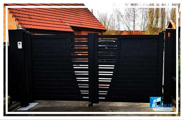 Pose de portail et clôture à Lille, Carvin