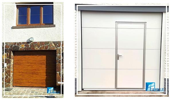 Pose de porte de garage à Lille, Carvin