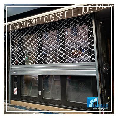 Pose de rideau métallique à Lille, Carvin