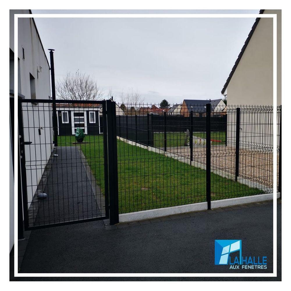 Pose de portails et clôtures Cambrai